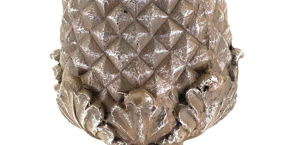 ШИШКА H51 см, на подставке, керамика, коричневый