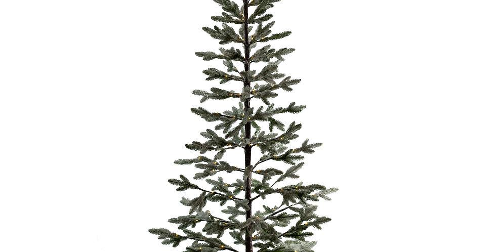 Дерево хвойное LED H250 см, заснеженное, металл/пластик, зелёный