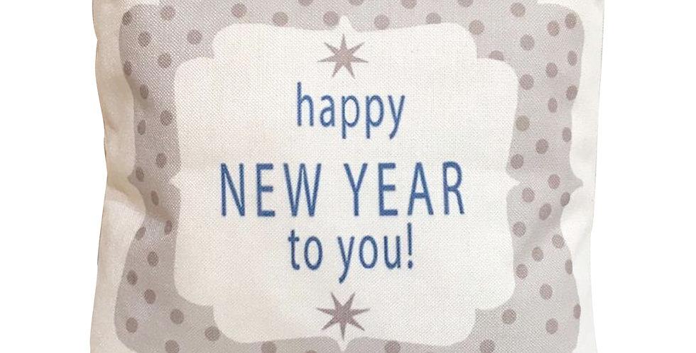 Подушка с принтом HAPPY NEW YEAR 45х45 см