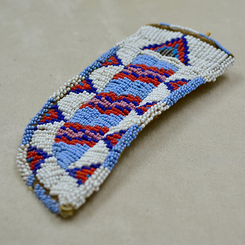 Sioux Beaded Knife Sheath - Ca 1900