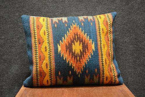 """Set of 2 Zapotec 15"""" x 20"""" Pillows"""