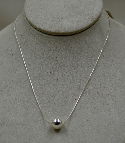 Sterling Silver Eunity Necklace by Sippecan Designs