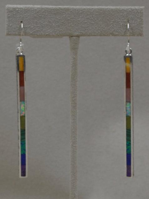 Long Dancing Stick Earrings by Michael & Melanie Lente