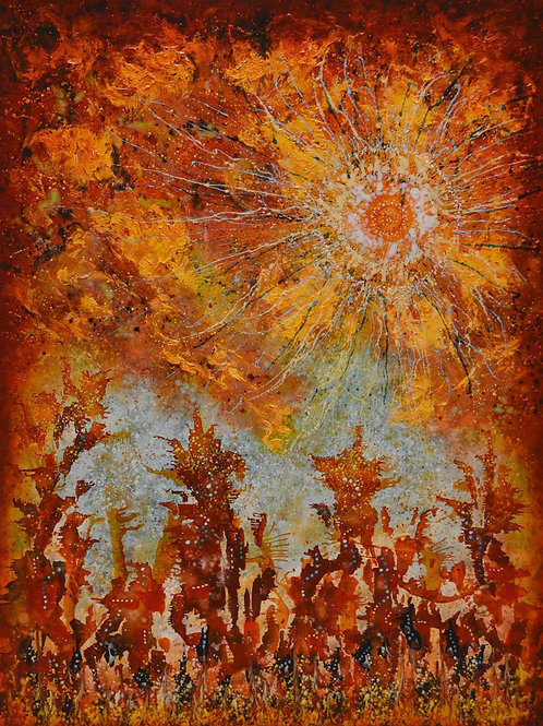 """Elemental Dance - Dawn Greeting"" by Ken Bonner"