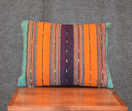 "Set of 2 Zapotec Pillows - 15"" X 20"""