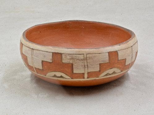 Santa Ana Pueblo Pot by Elvena Montoya, 1977