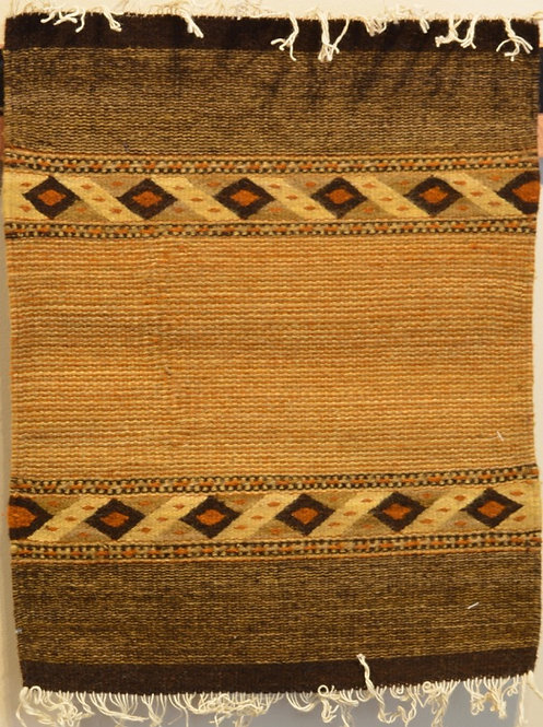 "Set of 4 Zapotec 15"" X 20"" Placemat Weavings"