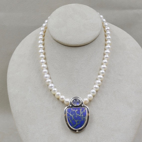 Freshwater Pearl Necklace by Richard Lindsay