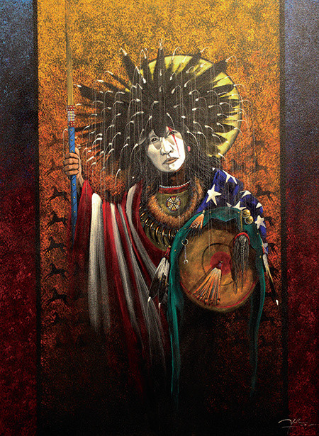 Native American Painters Show Dec 15th & 16th