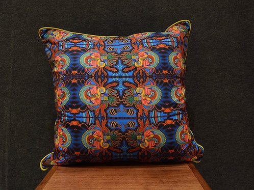 """""""Number 5 - 24"""" Large Art Pillow by Libby Chadd"""