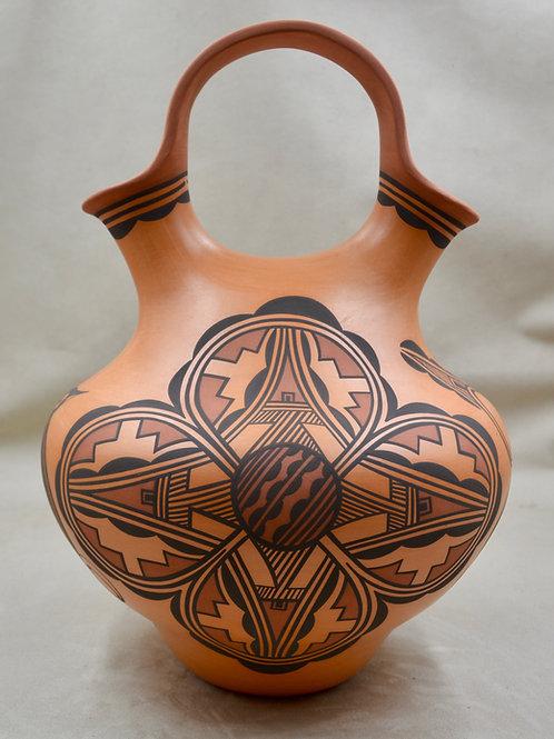 Large Wedding Vase by Gaylon Westika -Zuni