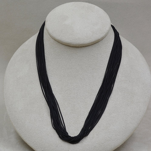 20 Strand Black Carboned Steel by Michele McMillan