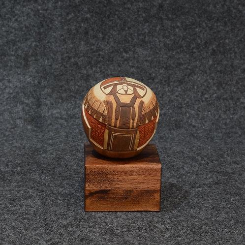 Seed Pot by Lawrence Namoki, Hopi