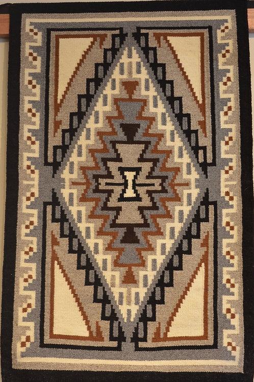 """Ganado Navajo Weaving Caroline Nez 40 x 24"""""""