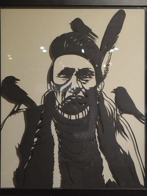 """Chief Joseph"" by Valerie Rangel"