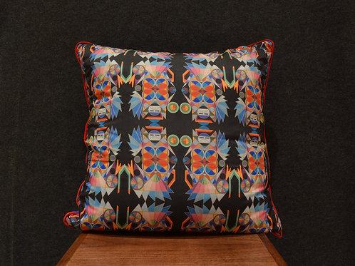 """""""Deco Katsina 24"""" Large Art Pillow by Libby Chadd"""