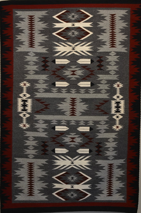 "Storm Blanket by Annette Bahe Begay - 72"" X 48"""