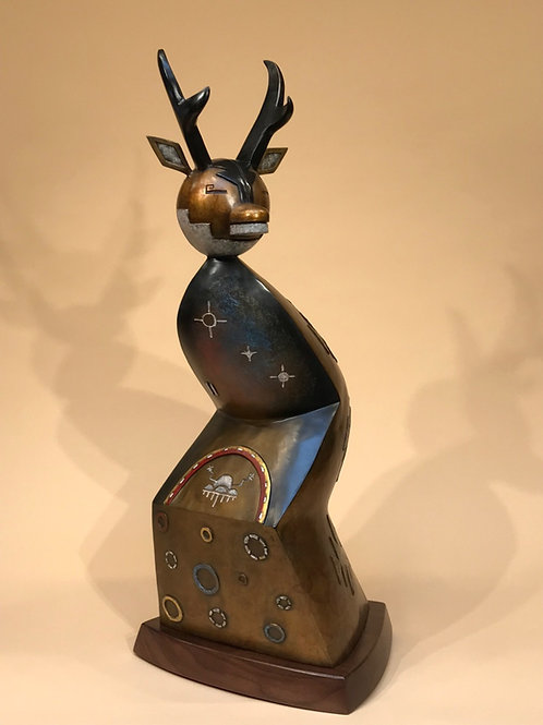Kindred Spirit by Joe Cajero, Jemez Pueblo