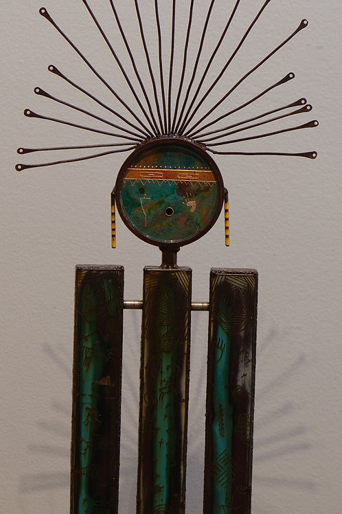 """Caretaker"" Sculpture - 39"" x 8"" x 7"" by Chris Turri"