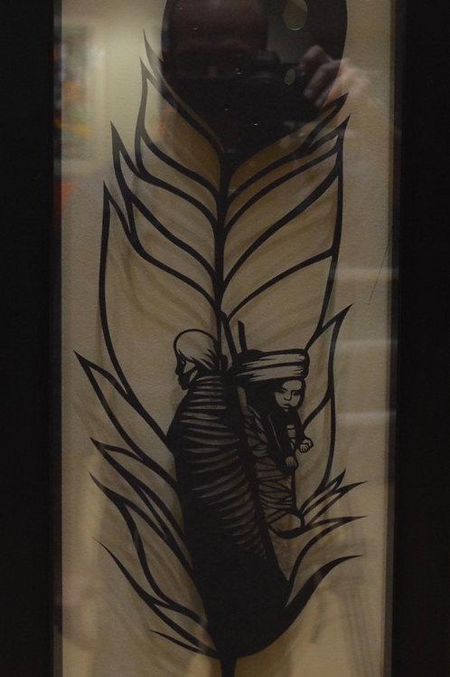 """Feather"" by Valerie Rangel"