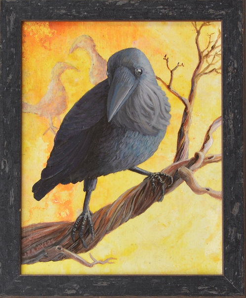 """Mesa Verde Crow"" by Liza Myers"