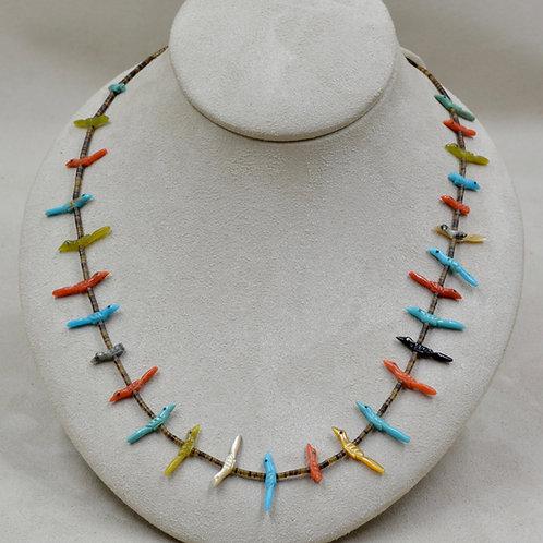 Zuni Pueblo Fetish Necklace