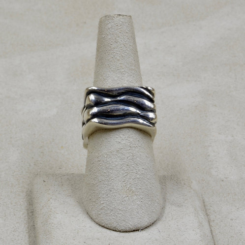 Square Sterling Silver 7x Ring by Roulette 18