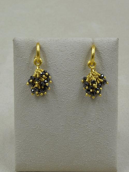 Black Diamonds Bundles (only) / 7.06Cts 22k by Pamela Farland