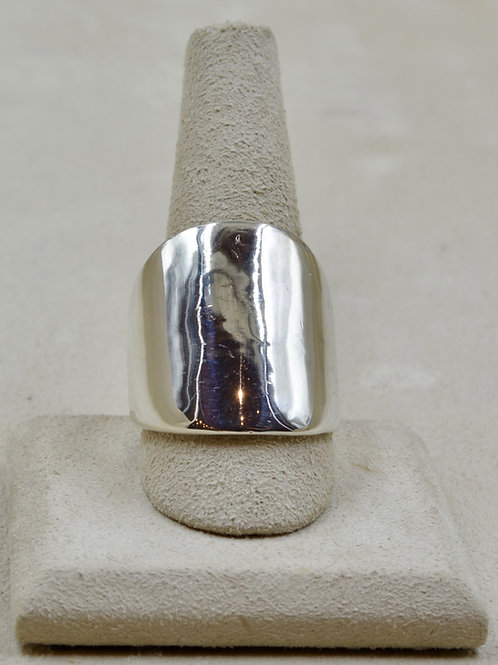 Sterling Silver 10x Infinity Ring by Charles Sherman
