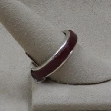 Raised Inlay Rosarita 10.5X Ring by Michael and Causandra Dukepoo