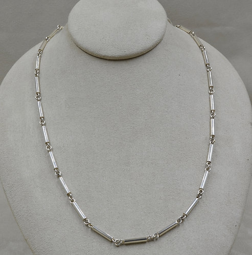 Handmade Solid Sterling Silver Chain by Veronica Benally