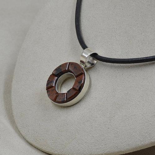 Obsidian Lifesaver Pendant by Dukepoo