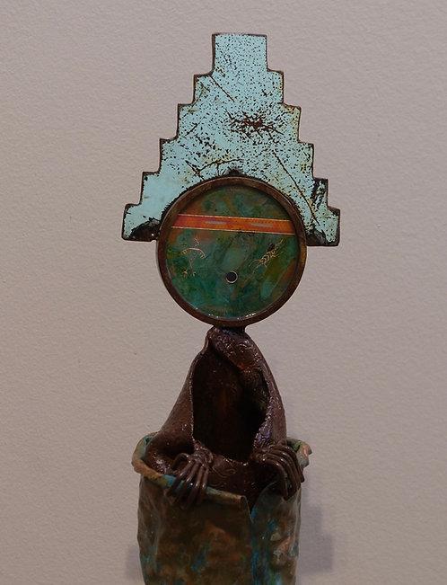 """Guide Me Home"" Sculpture - 37"" x 10"" x 6"" by Chris Turri"