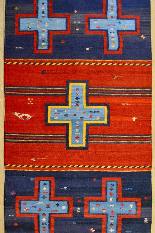 Four Winds Cross Medium 3' x 5' Rug by Sergio Martinez - Zapote