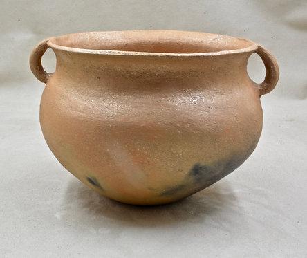 Picuris Pueblo Bean Bowl by Virginia Duran, 1979