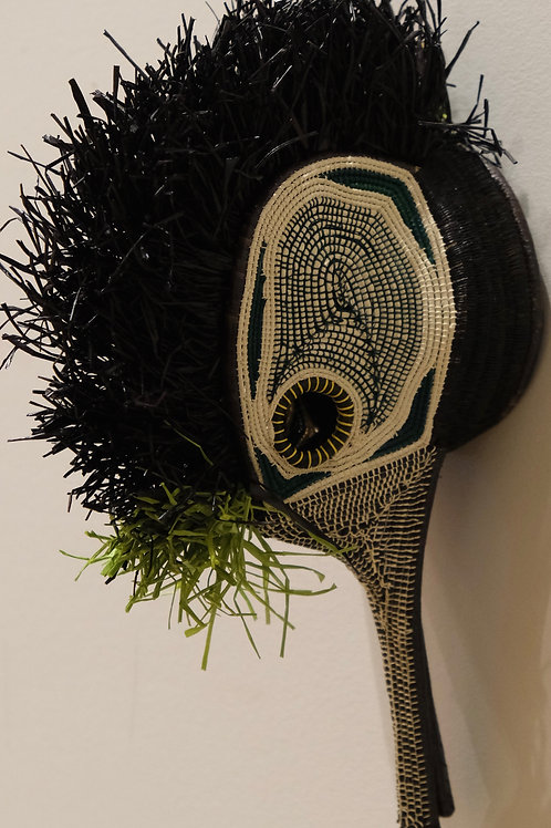 Green Colibri SmallEmberá Mask