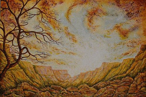 """Enchanting Tranquility"" - 48"" X 72"" - by Ken Bonner"