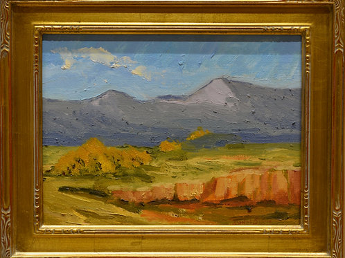 """""""Autumn in the Jemez (Chicama {Peak)"""" by Donal O'Toole"""