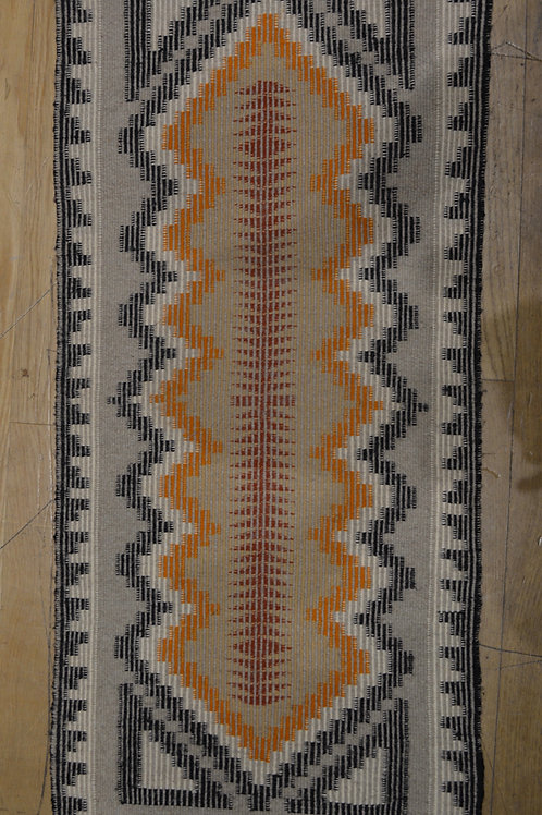 "Vintage Navajo Weaving - California 1970's - 43 1/2"" x 19 1/2"""
