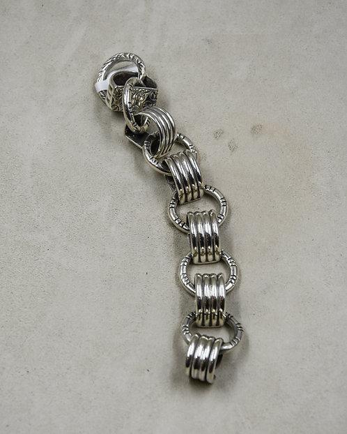 Taxco Style Shape Link Bracelet by Melanie DeLuca