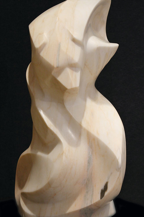 """""""Ancestors of the North"""" Portugese Marble Bear by Eddy Shorty"""