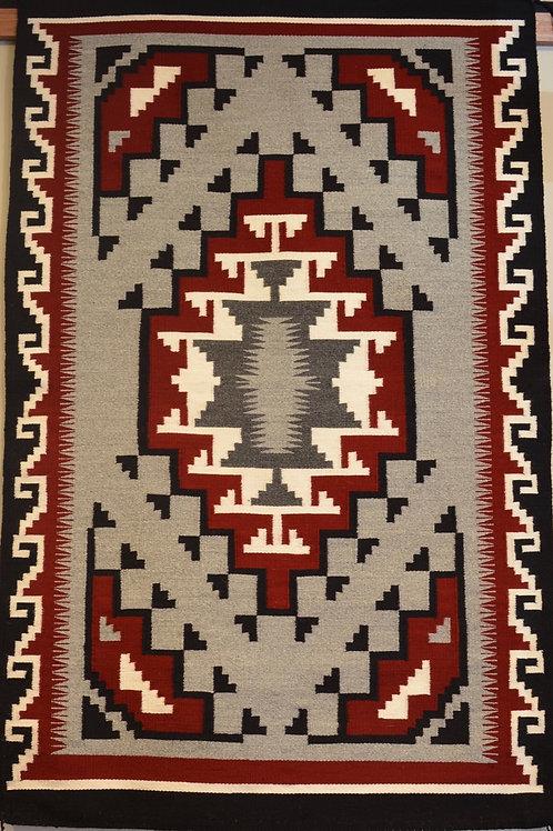 """Ganado Navajo Weaving by Camela Begay - 63.5 x 40.5"""""""