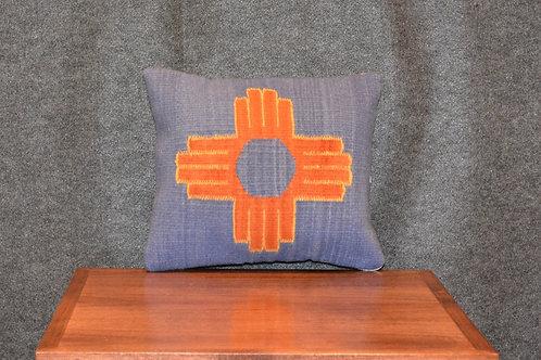 "Set of 2 Zia Peanut Pillows - 12"" X 14"""