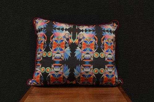"""Deco Katsina"" Art Pillow by Libby Chadd"