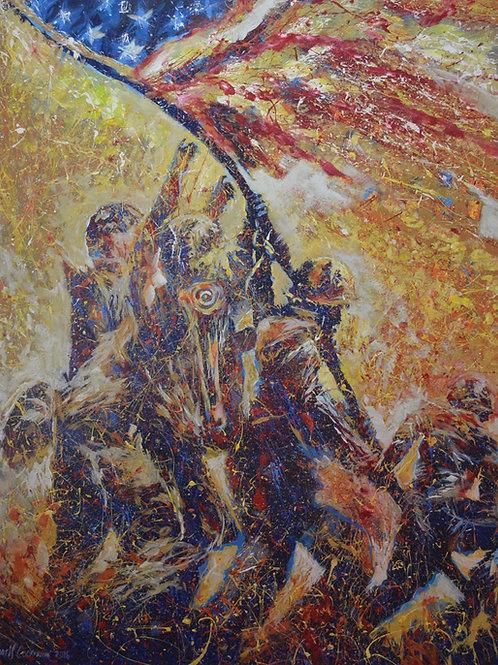 """Iwo Jima"" by Farrell Cockrum"