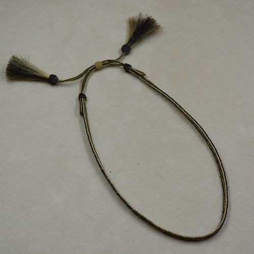 "Antique 14"" Horsehair Hatband"