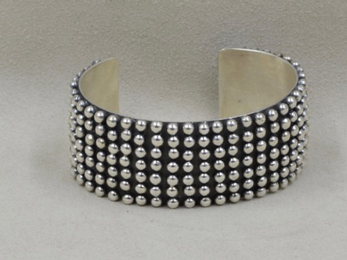 Cuff-Ronnie Willie All Sterling Silver Shot by Shoofly 505
