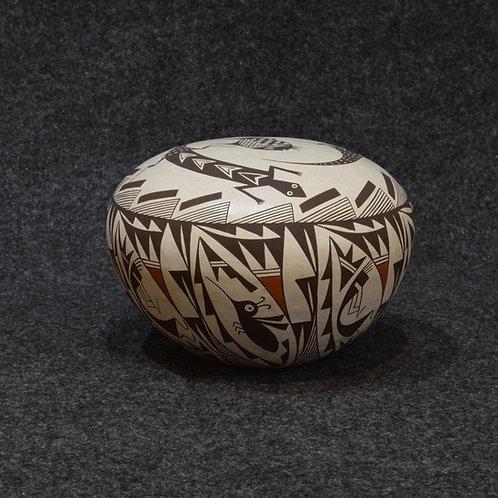 Seed Pot by Rachael Concho, Acoma Pueblo