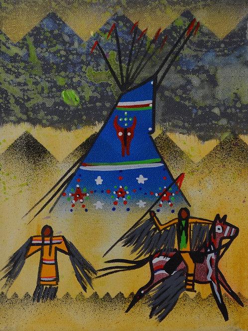 """Buffalo Medicine Launch"" by Ben Nelson"