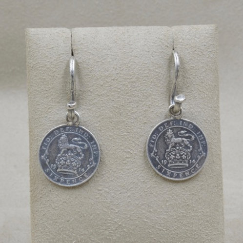 Sterling Silver Coins on Handmade Wires by Michele McMillan